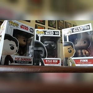 STAR WARS Funko Pop Triple bundle